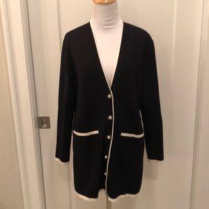 ZARA 'Chanel style' knit cardigan sweater EUC